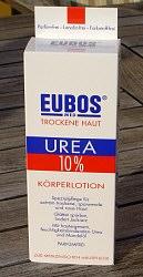 EUBOS UREA 10% Körperlotion für trockene Haut