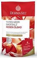 DERMASEL Totes Meer Badesalz Rosenölbad