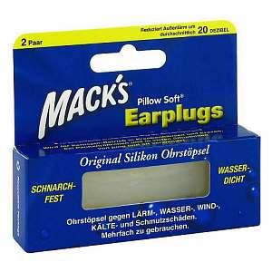 Mack's Earpluggs Ohrstöpsel
